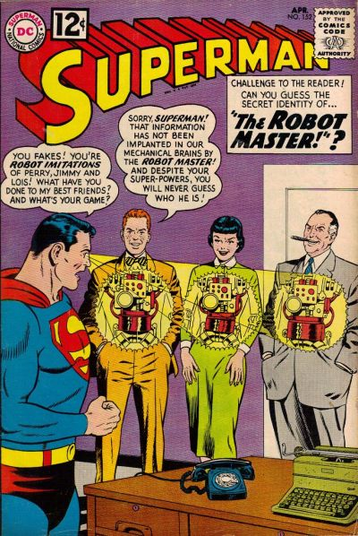 Cover for Superman (DC, 1939 series) #152