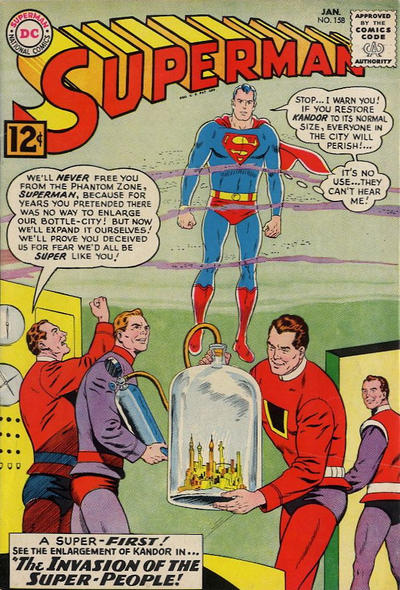 Cover for Superman (1939 series) #158