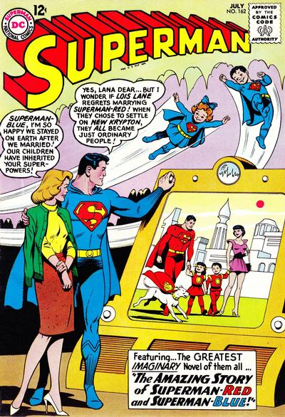 Cover for Superman (1939 series) #162