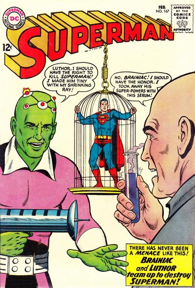 Cover for Superman (1939 series) #167