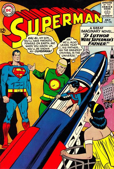 Cover for Superman (DC, 1939 series) #170