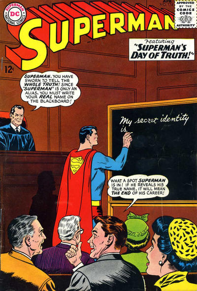 Cover for Superman (1939 series) #176