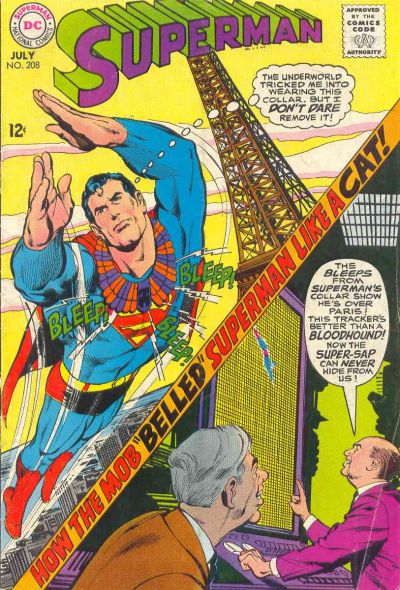Cover for Superman (DC, 1939 series) #208