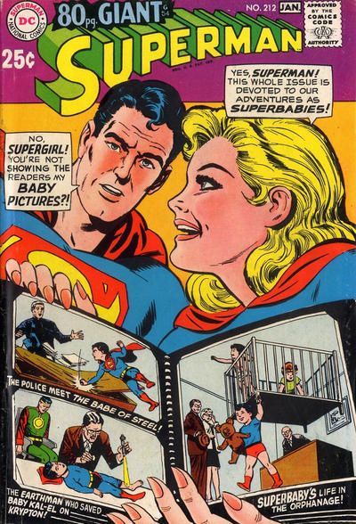 Cover for Superman (DC, 1939 series) #212