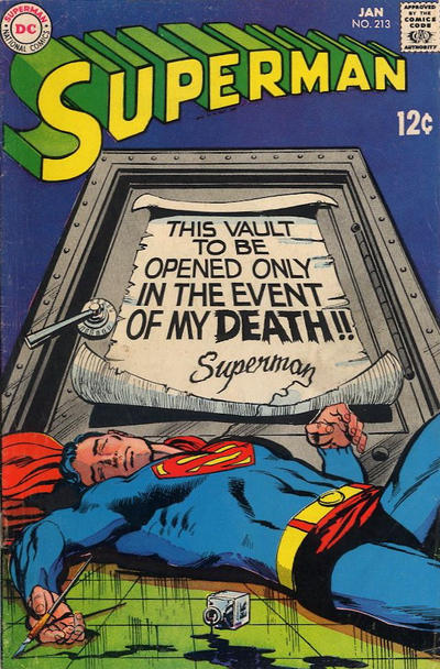 Cover for Superman (DC, 1939 series) #213