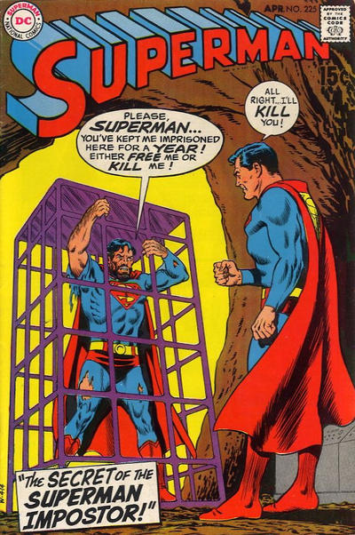 Cover for Superman (DC, 1939 series) #225