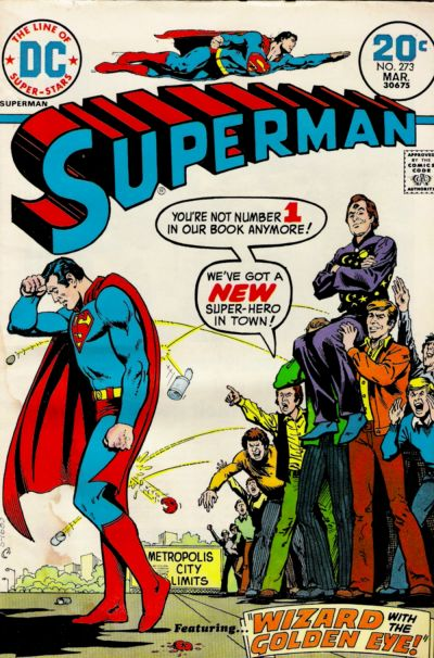 Cover for Superman (DC, 1939 series) #273