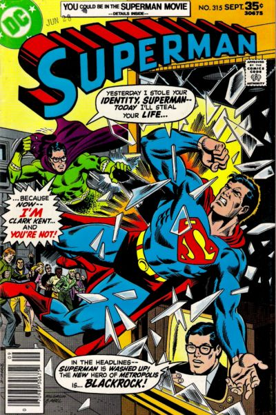 Cover for Superman (DC, 1939 series) #315