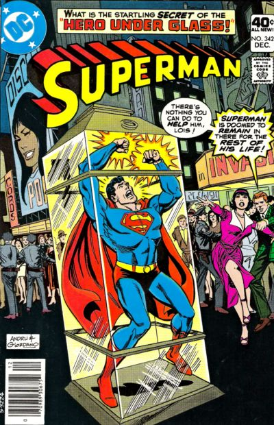Cover for Superman (1939 series) #342