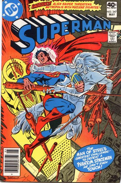 Cover for Superman (1939 series) #347