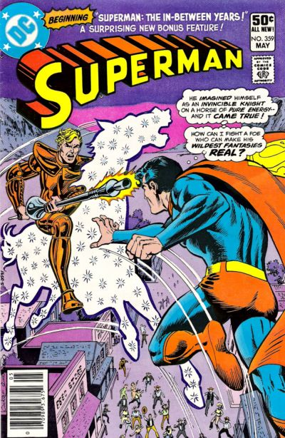 Cover for Superman (DC, 1939 series) #359