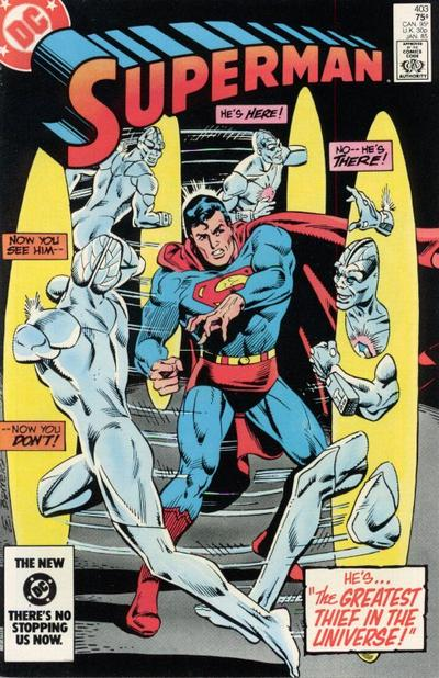 Cover for Superman (DC, 1939 series) #403 [Direct-Sales Variant]
