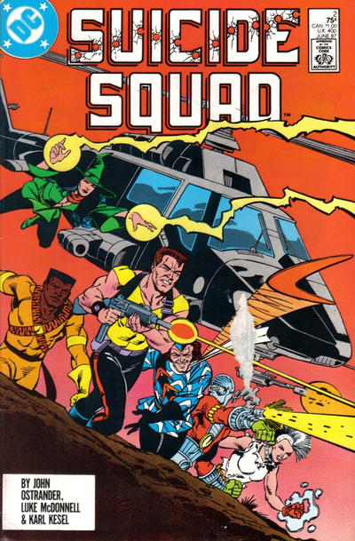 Cover for Suicide Squad (DC, 1987 series) #2 [Newsstand Edition]