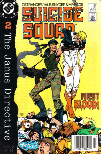 Cover for Suicide Squad (DC, 1987 series) #27 [Direct Edition]