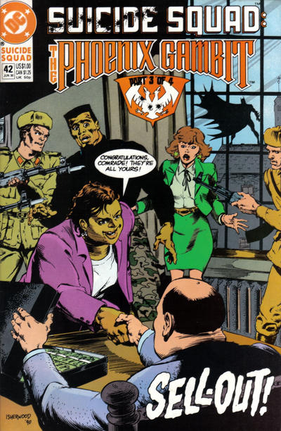 Cover for Suicide Squad (DC, 1987 series) #42