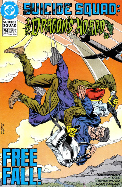 Cover for Suicide Squad (DC, 1987 series) #54
