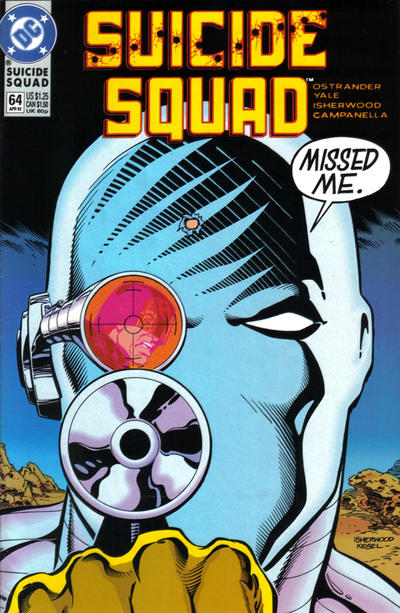 Cover for Suicide Squad (DC, 1987 series) #64