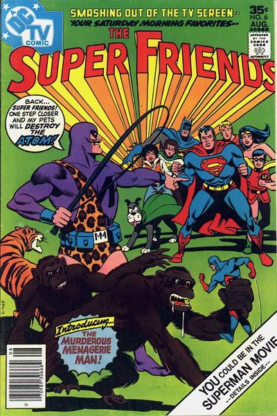 Cover for Super Friends (DC, 1976 series) #6