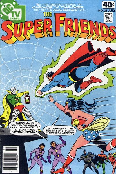 Cover for Super Friends (DC, 1976 series) #22 [newsstand]