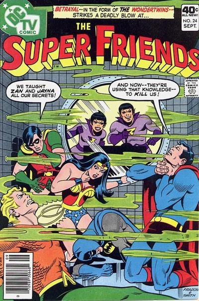 Cover for Super Friends (DC, 1976 series) #24