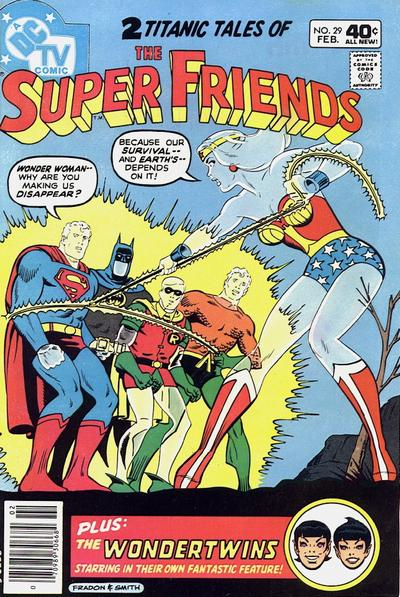 Cover for Super Friends (DC, 1976 series) #29