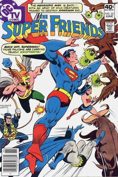 Cover for Super Friends (DC, 1976 series) #33