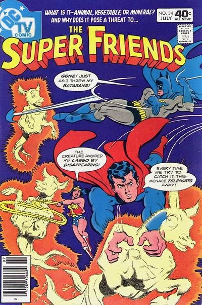 Cover for Super Friends (DC, 1976 series) #34