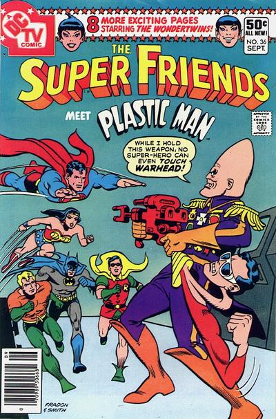Cover for Super Friends (DC, 1976 series) #36