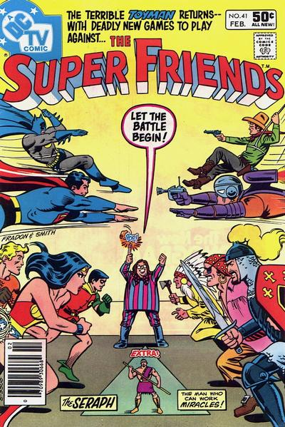 Cover for Super Friends (1976 series) #41 [Direct Edition]