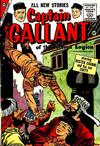 Cover for Captain Gallant (Charlton, 1956 series) #2