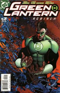 Cover Thumbnail for Green Lantern: Rebirth (DC, 2004 series) #2 [First Printing]