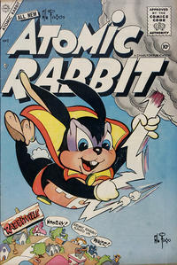 Cover Thumbnail for Atomic Rabbit (Charlton, 1955 series) #3