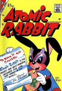Cover Thumbnail for Atomic Rabbit (Charlton, 1955 series) #8