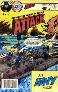 Cover Thumbnail for Attack (Charlton, 1979 series) #23