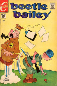 Cover Thumbnail for Beetle Bailey (Charlton, 1969 series) #75