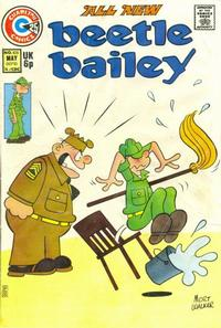 Cover Thumbnail for Beetle Bailey (Charlton, 1969 series) #105