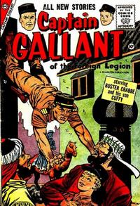 Cover Thumbnail for Captain Gallant (Charlton, 1956 series) #2