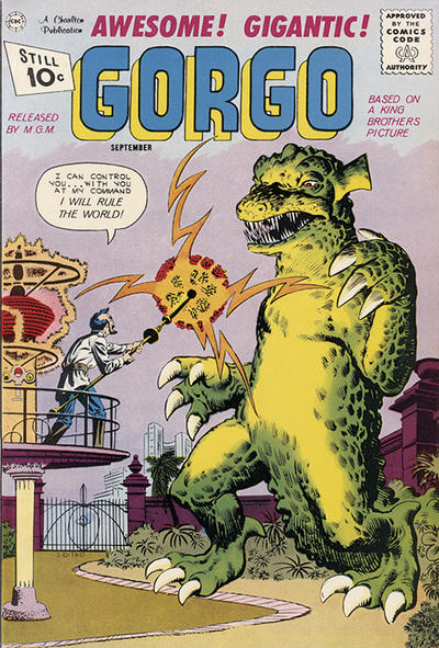 Cover for Gorgo (Charlton, 1961 series) #3
