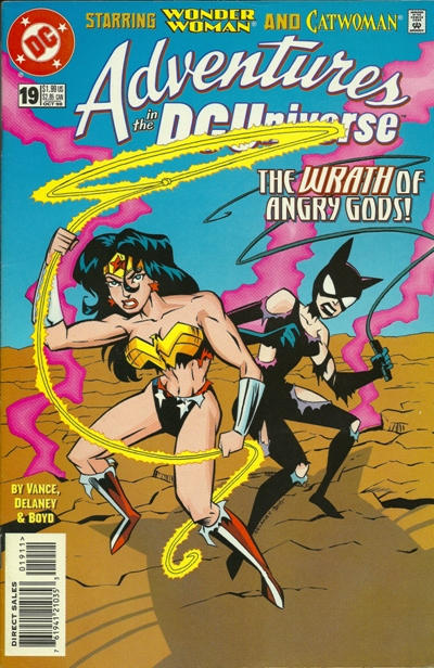 Cover for Adventures in the DC Universe (DC, 1997 series) #19