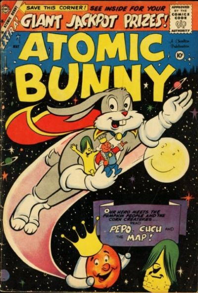 Cover for Atomic Bunny (Charlton, 1958 series) #16