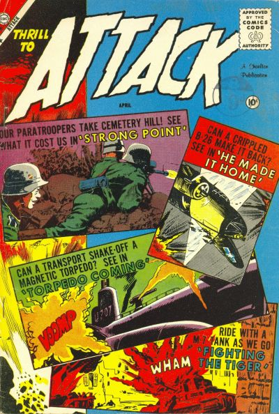 Cover for Attack (Charlton, 1958 series) #57