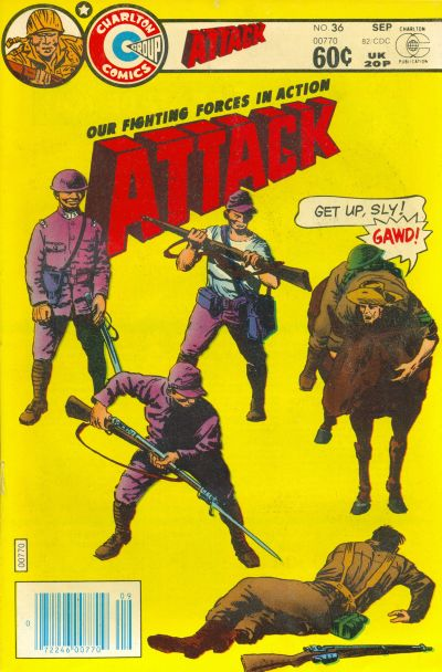 Cover for Attack (Charlton, 1979 series) #36