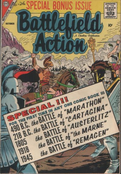 Cover for Battlefield Action (1957 series) #21