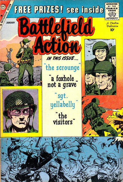 Cover for Battlefield Action (Charlton, 1957 series) #28