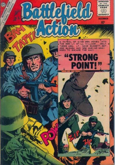 Cover for Battlefield Action (1957 series) #33