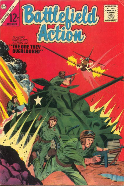 Cover for Battlefield Action (1957 series) #50
