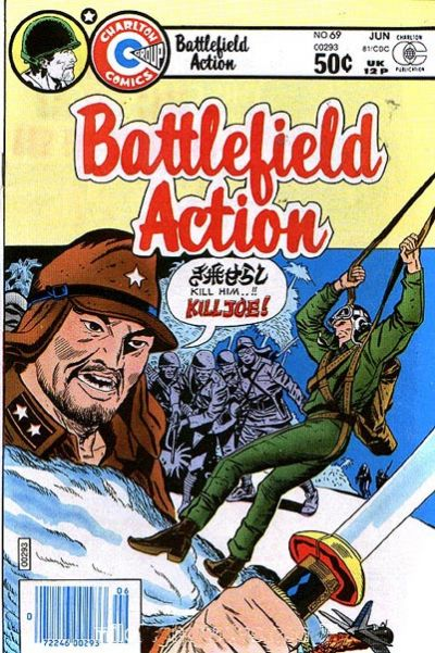 Cover for Battlefield Action (Charlton, 1980 series) #69