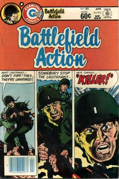 Cover for Battlefield Action (Charlton, 1980 series) #80