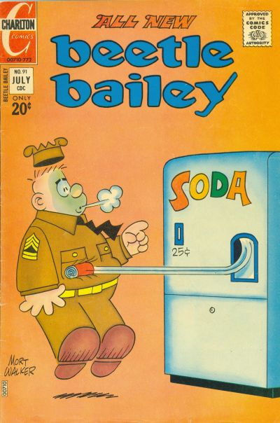Cover for Beetle Bailey (Charlton, 1969 series) #91