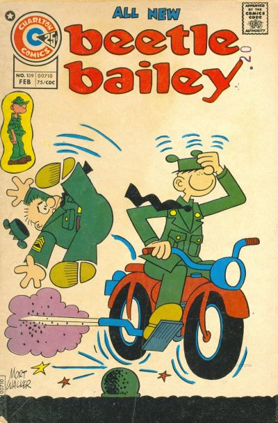 Cover for Beetle Bailey (Charlton, 1969 series) #109